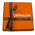 Luxury Brand Box with Branded Ribbon