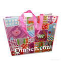 2012 Luxury Shiny Lamination Non Woven Advertising Bag