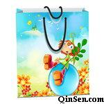 Custom Design Paper Bag for Baby Clothing