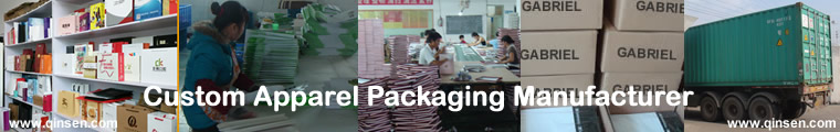 custom Apparel packaging manufacturer